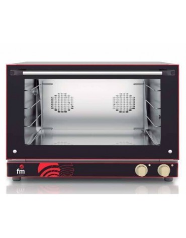 HORNO DE CONVECCION CON VAPOR ELECTRICO MP-604 4BANDEJAS 60X40CM FM