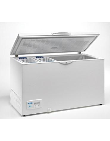 CONGELADOR HORIZONTAL 400LITROS TAPA CIEGA ABATIBLE HC460 INOX
